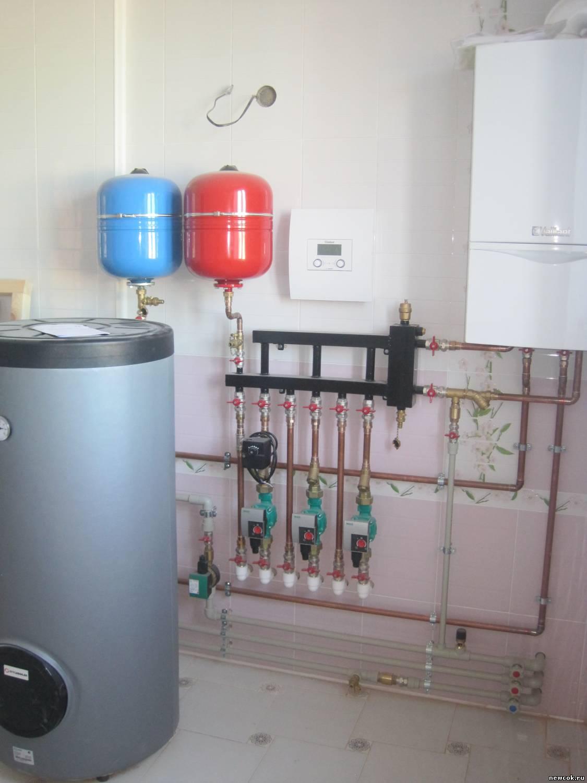 Газовыйводонагреватель для теплого пола