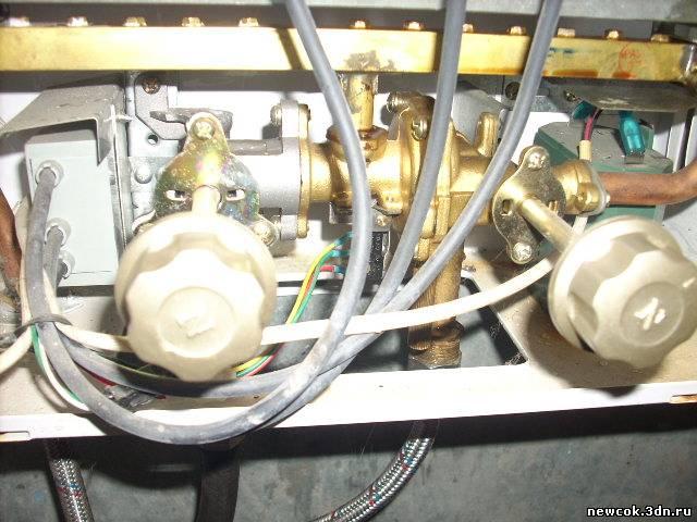 Схема установки газовой